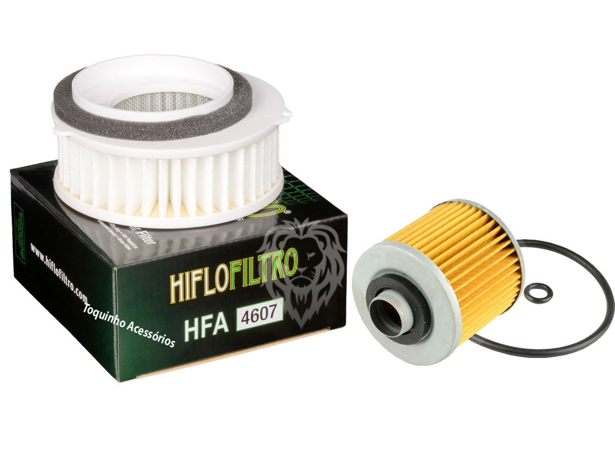 Kit Filtro De Ar Drag Star 650 Yamaha + Filtro de óleo