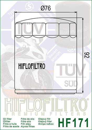 Kit Filtro De Óleo Harley 883/1200/1600 Hiflofiltro +3 Lts Motul 3000 20w50