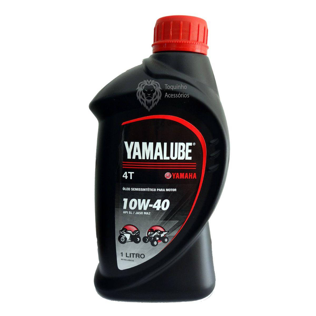 Kit Filtro De Óleo Ph6017a E 2 Lts Yamalube 10w40