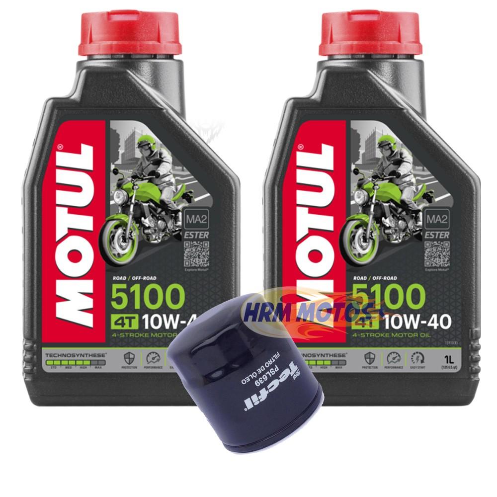 Kit Filtro De Óleo Suzuki  + 2 Lts Motul 5000 10w40