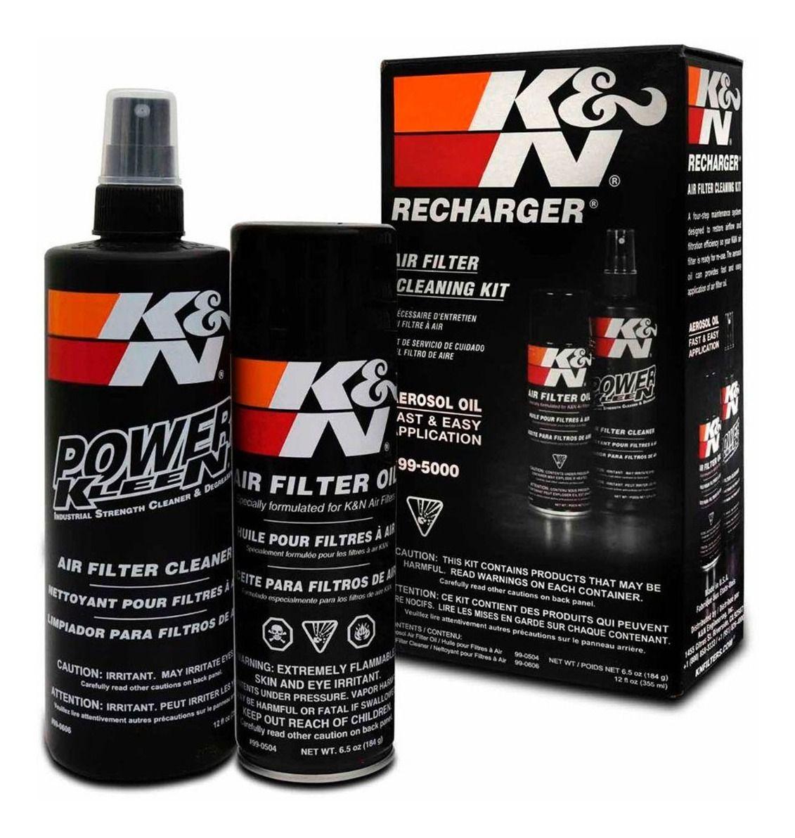 Kit Limpeza do Filtro de ar K&N