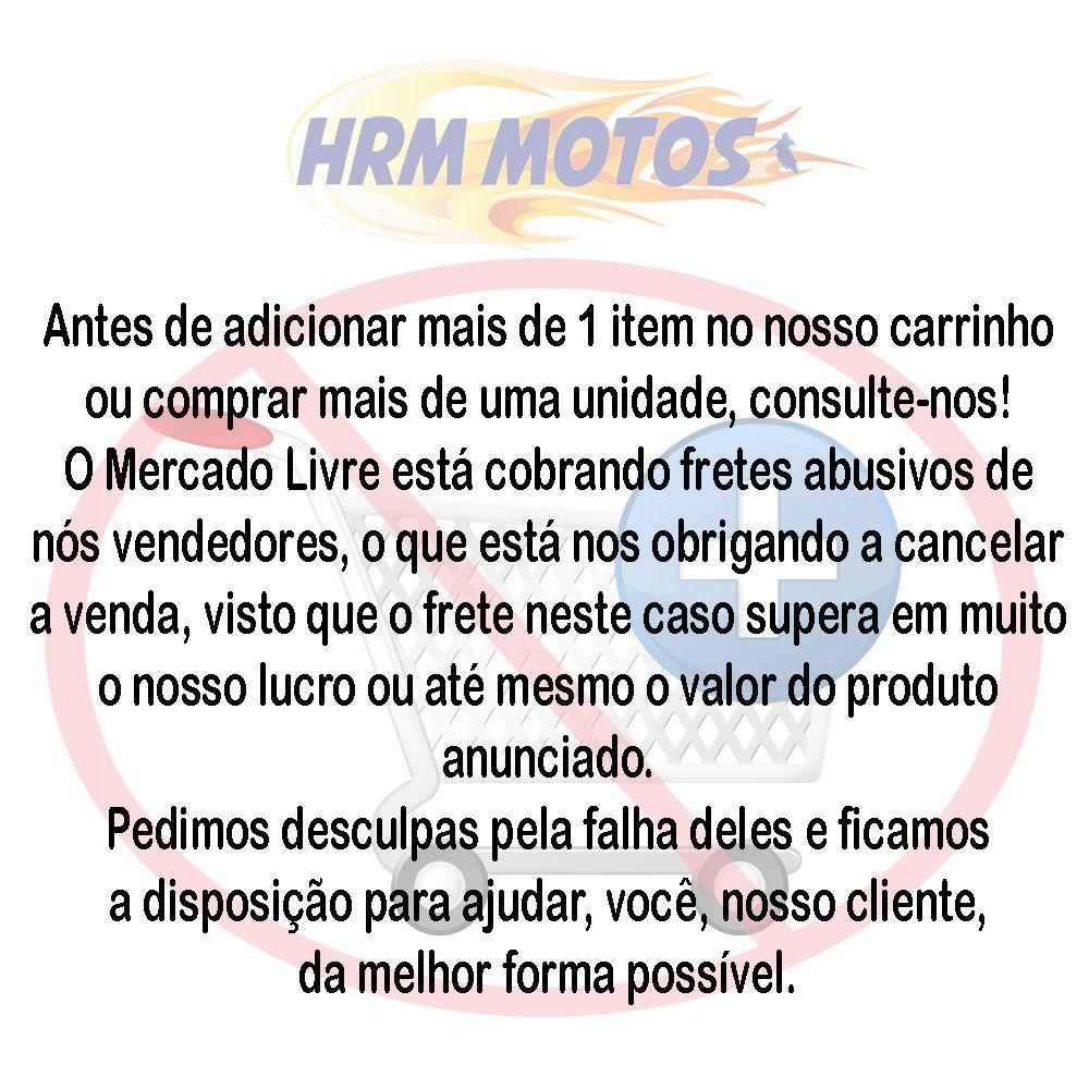 Kit Pastilha Freio Dianteira/traseira Fazer 250 2016-2018