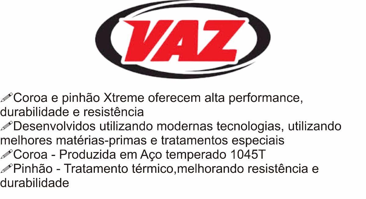 Kit Relação Corrente Coroa Pinhão Yamaha Xj6 Vaz / Did com Retentor