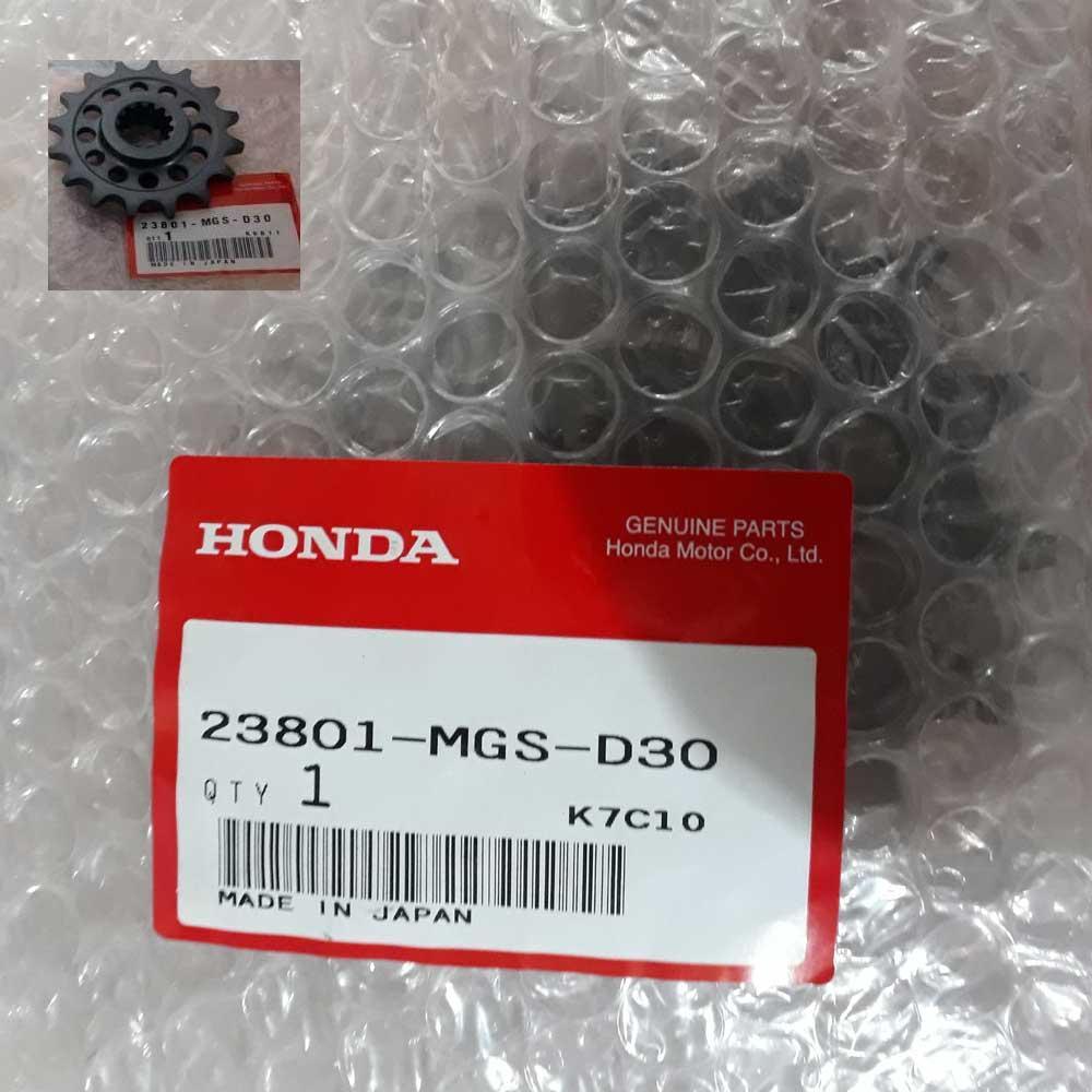 Kit Relação Honda Nc 700x Original c/Corrente VX3 Com Retentor