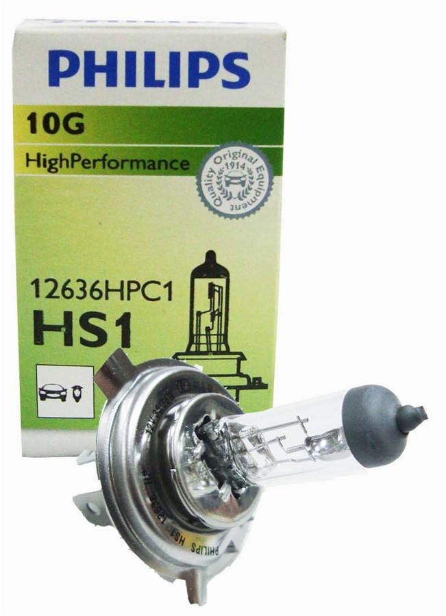 Lâmpada Farol HS1/H4 Philips 35/35w Factor/Titan 150/160 Original