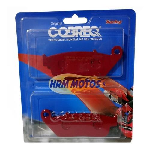 Lona Freio P/honda Shadow 750 Ebc + Pastilha Freio Cobreq