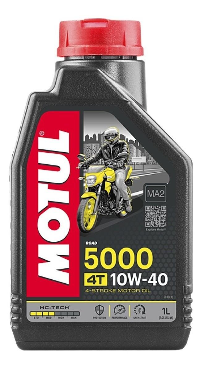 Óleo Motor 4t Motul 5000 10w40 Semi-sintético Litro hc-TECH