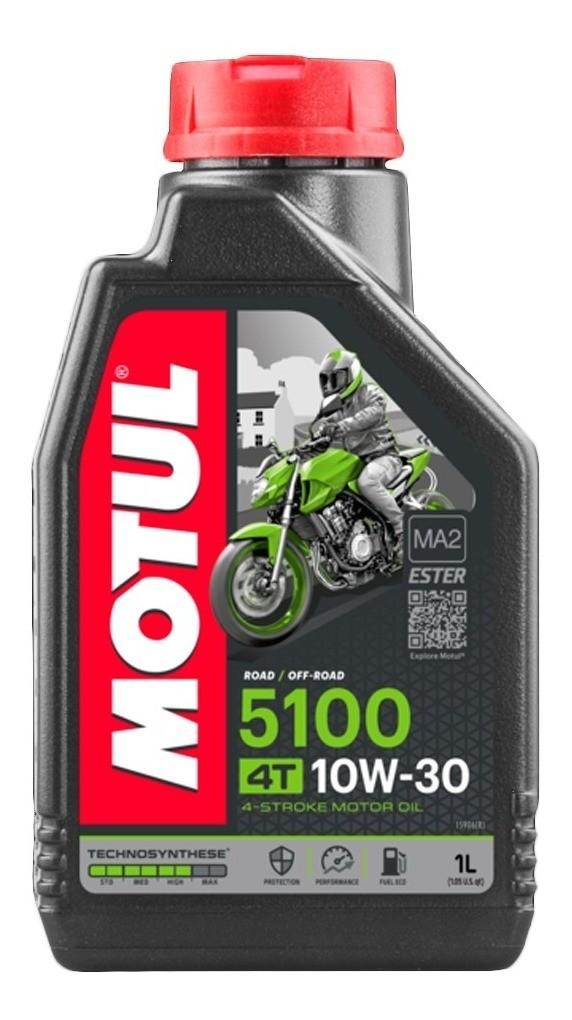 Óleo Motor 4T Motul 5100 10w30 Semi-sintético