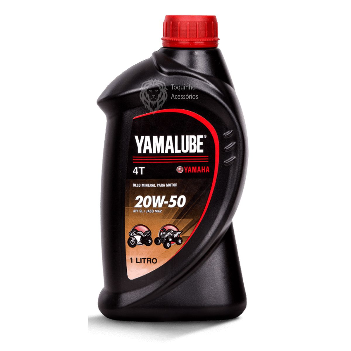 Óleo Motor Yamalube 4T 20w50 Mineral - litro