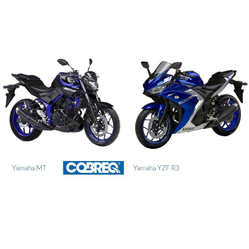 Pastilha Dianteira MT-03 / R3 2016 à 2018 Cobreq Racing N-1876