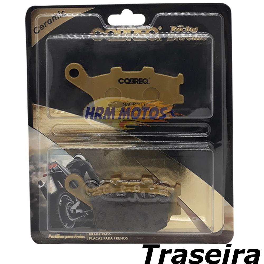 Pastilha Freio Cerâmica CB 250R/CB 300/XRE 300 com ABS Cobreq Racing Extreme N-927C