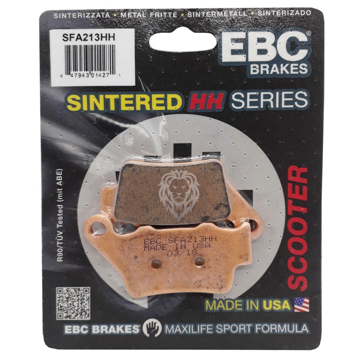 Pastilha Freio Ebc Bmw F800GS/F800R/S1000RR/XT660R/Z Traseira Sinterizada FA208R