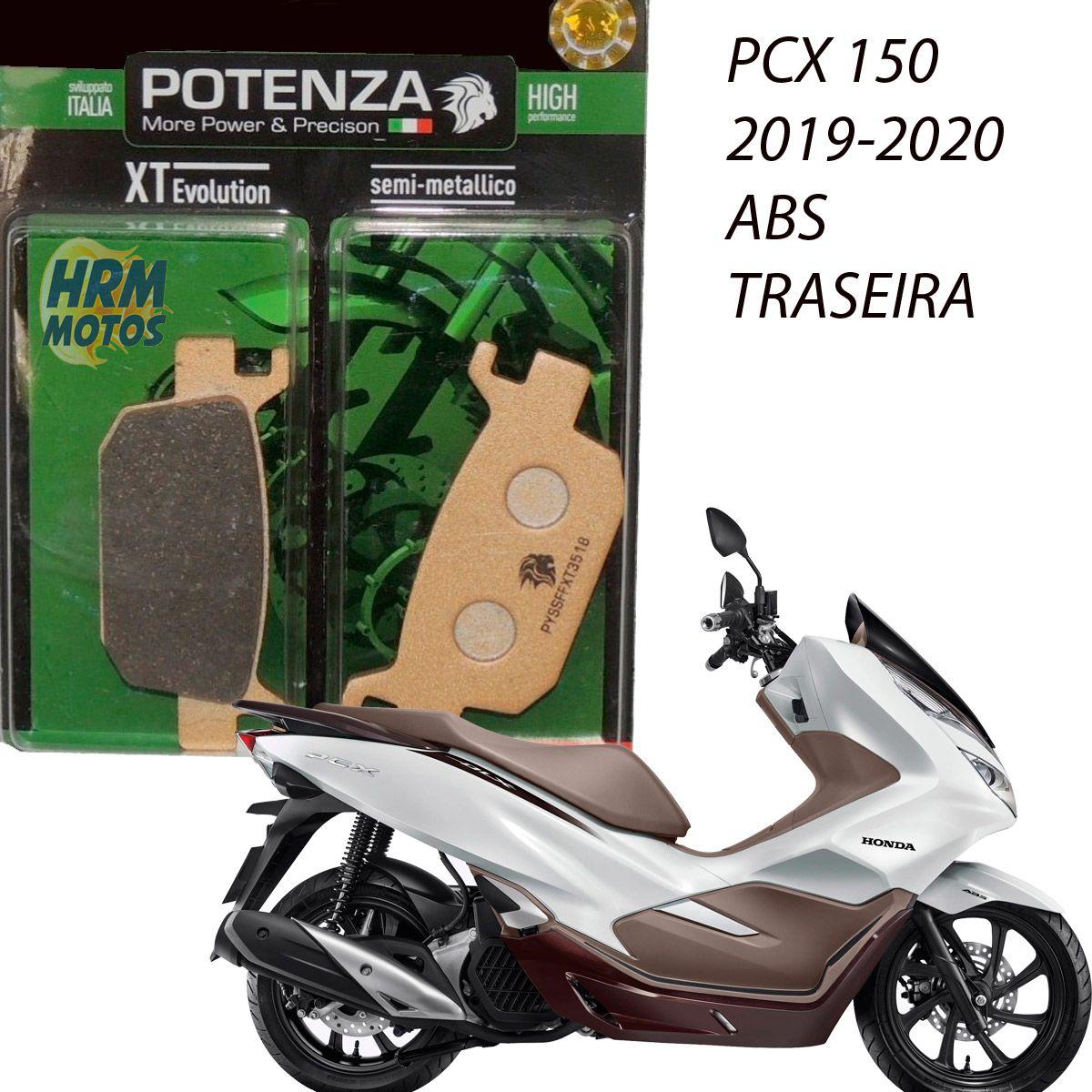 Pastilha Freio PCX 150 2019/2020 ABS Traseira Potenza