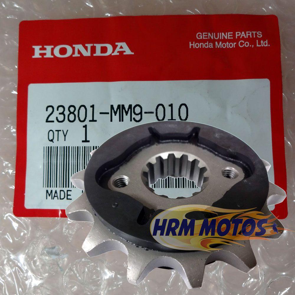 Pinhão 15 Dentes Honda Transalp 700 Aço 1045 Original com Redutor de ruído