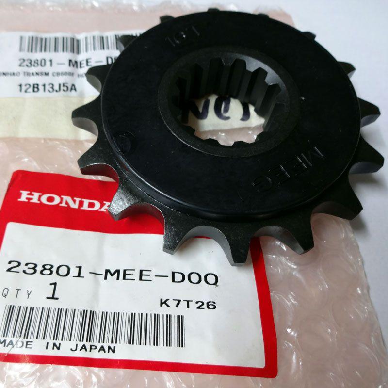 Pinhão 16 Dentes Honda CB 600F Hornet 08-15/CBR 600F 11-14/CBR 650F Aço 1045 Original