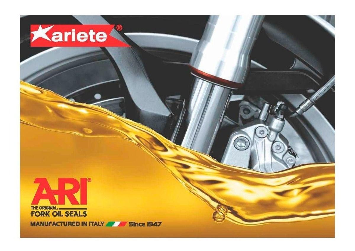 Retentor Bengala Para BMW F800 GS até 2012 Ariete Par
