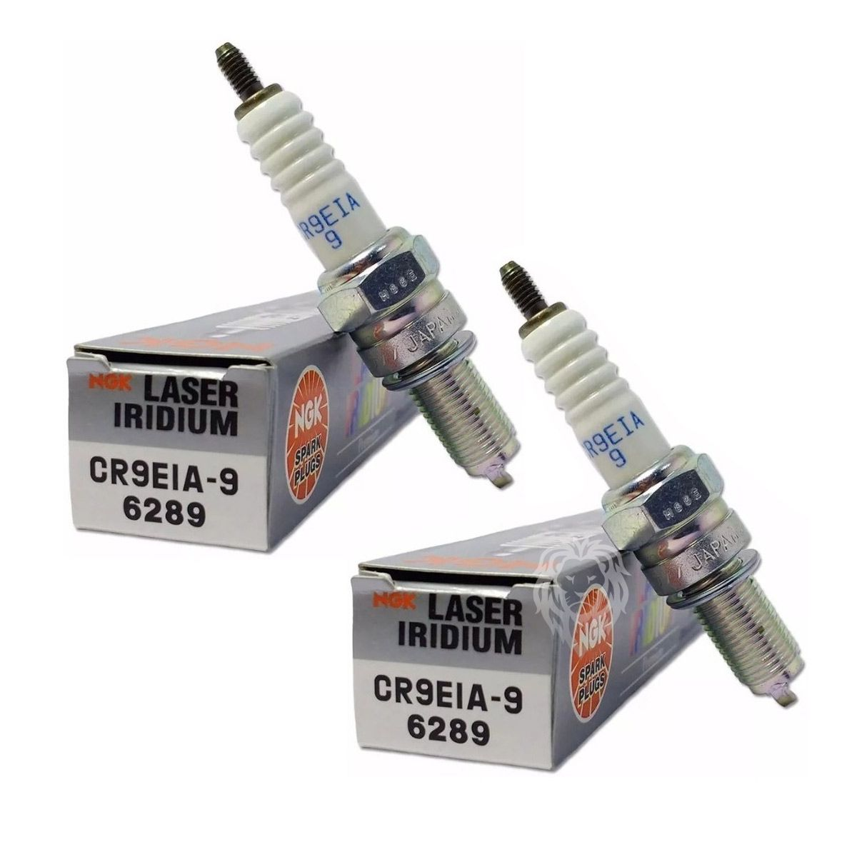 Vela NGK Laser Iridium CR9EIA-9 Ninja 650R ER6N VERSYS 650 (PAR)
