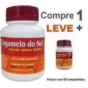 Cogumelo do Sol® Agaricus sylvaticus - 01 FRASCO - Ganhe 1 Frascos com 60 comprimidos