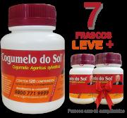 Cogumelo do Sol®  Agaricus sylvaticus - 07 FRASCOS Ganhe 2 Frascos com 60 comprimidos