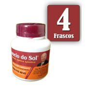 Cogumelo do Sol®  Agaricus sylvaticus - 04 FRASCOS