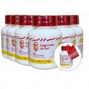 Kit 06 Frascos Cogumelo do Sol® - Ganhe + 01 Frasco com 120 comprimidos
