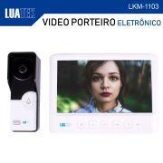 Vídeo Porteiro Câmera Visão Noturna Eletrônico Interfone Luatek LKM-1103
