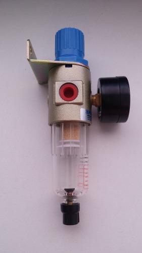 Filtro De Ar Com Regulador De Pressão 1/4 Fluir