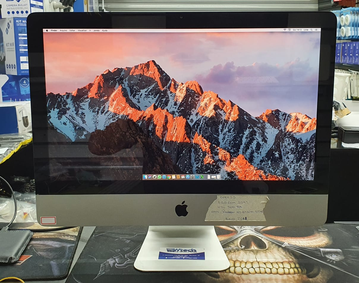 APPLE IMAC 21,5 I5 4GB 500 GB 2011 USADO