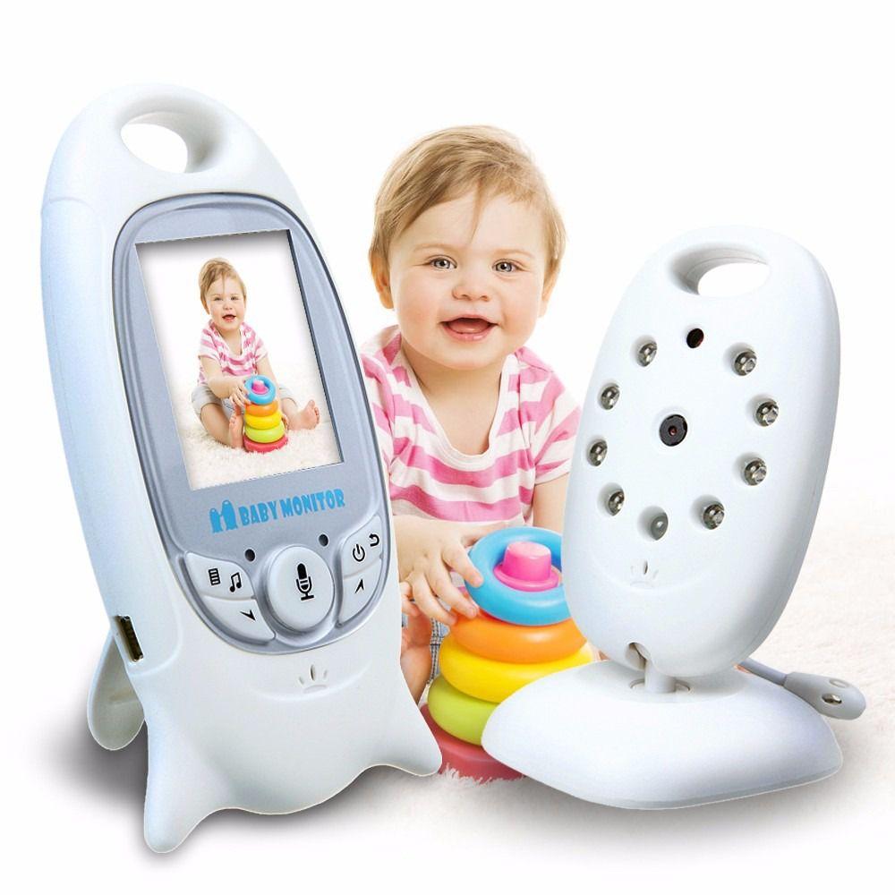 Babá Eletrônica Baby Monitor Digital Bebê Com Visão Noturna