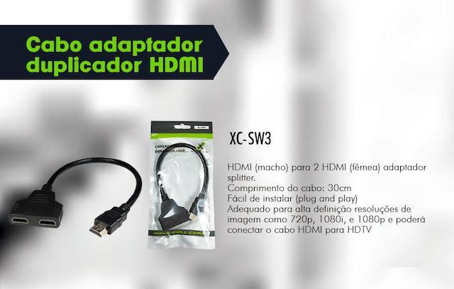 CABO DUPLICADOR HDMI XC-SW3 XCELL