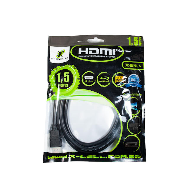 CABO HDMI 1,5 METROS