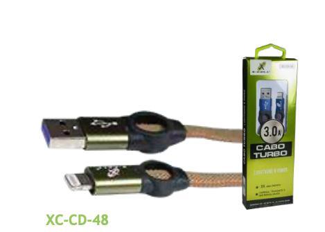 CABO LIGHT IPHONE TURBO USB 3.0A 1 METRO
