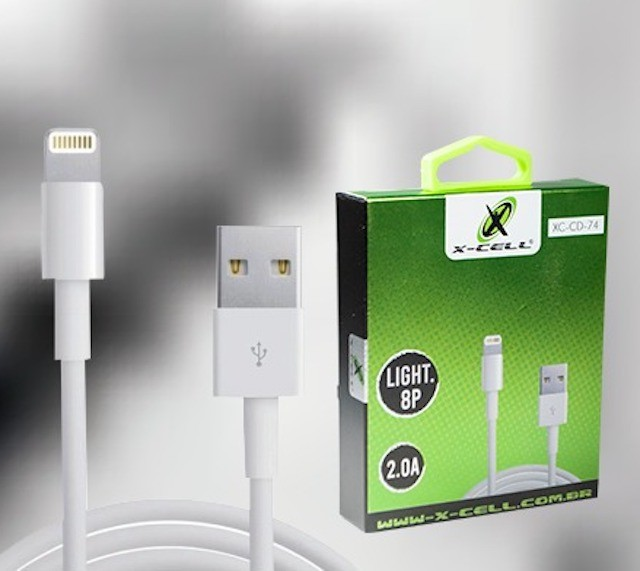 CABO LIGHTNING USB 2.0A 1m XCELL
