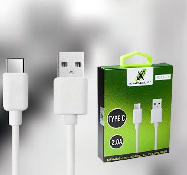 CABO TIPO-C USB 2.0A 1m XCELL