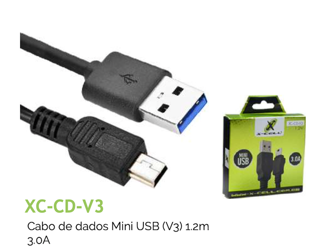 CABO V3 TURBO USB 3.0A 1.2m XC-CD-V3 XCELL