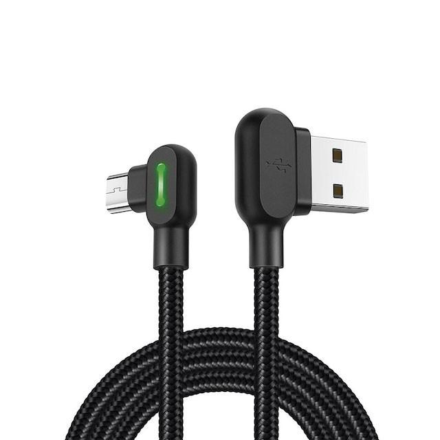 CABO V8 TURBO 90º USB 3.0A 1 METRO XCELL