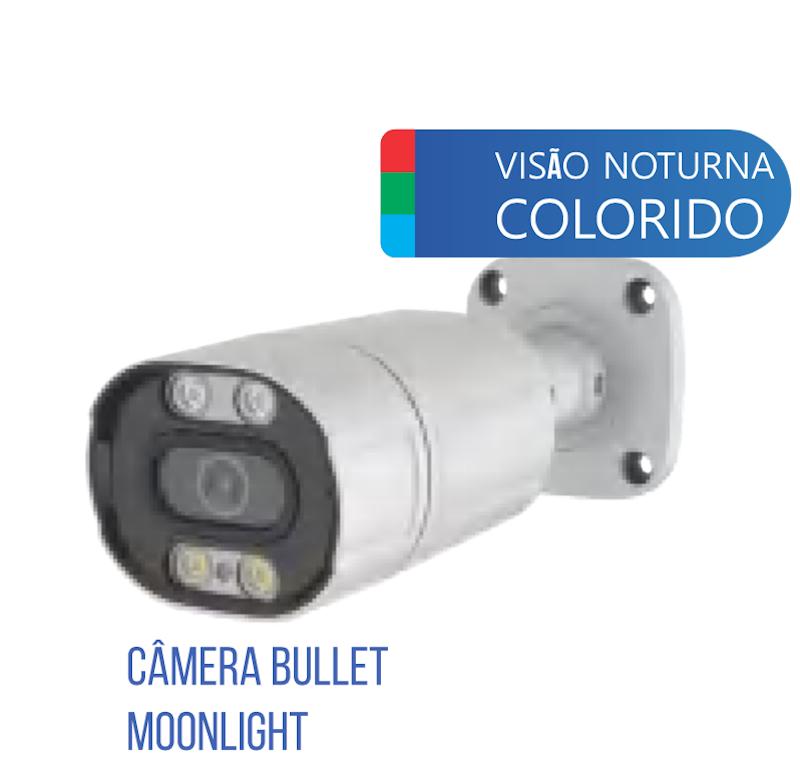 CAMERA 1080P COLORIDA A NOITE INTERNA/ EXTERNA LCC2320 LUATEK