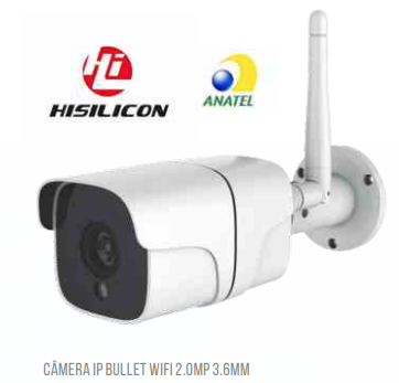 Camera Ip Wifi Externa 1080p Blindada LSC320