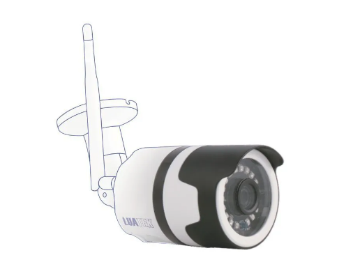 Camera Ip Wifi Externa 720p Blindada Lkw-3210