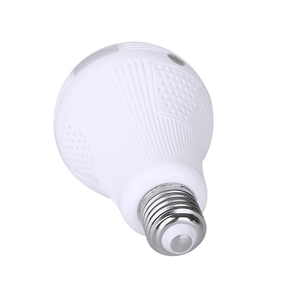 Câmera Lâmpada 360° Graus Visão Noturna Panorâmica LKW5613 Luatek  - Wtech vendas e Assistência técnica