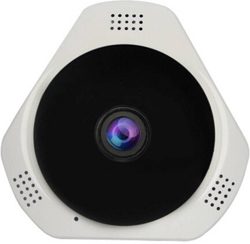 Câmera Wifi 360° Infra Vermelho microfone Luatek