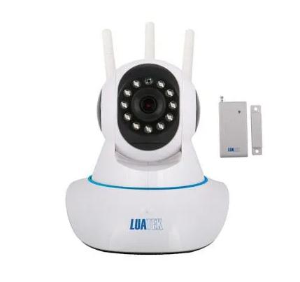CAMERA Wifi 3 ANTENAS COM SENSOR DE ALARME LKW1510 LUATEK