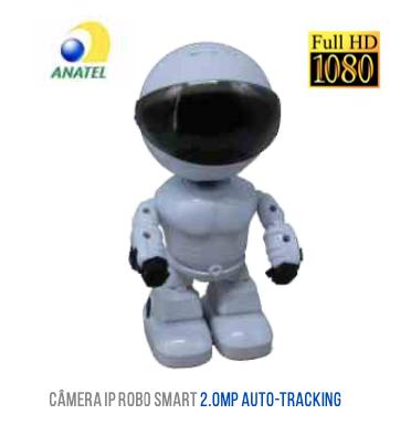 CAMERA WIFI AUTO-TRACK ROBO LUATEK