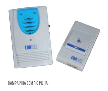 Campainha Sem Fio 32 Toques Wireless Bivolt Luatek