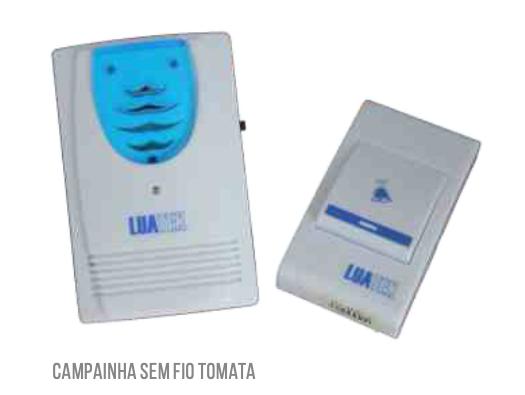 CAMPAINHA SEM FIO TOMADA LKM3013 LUATEK