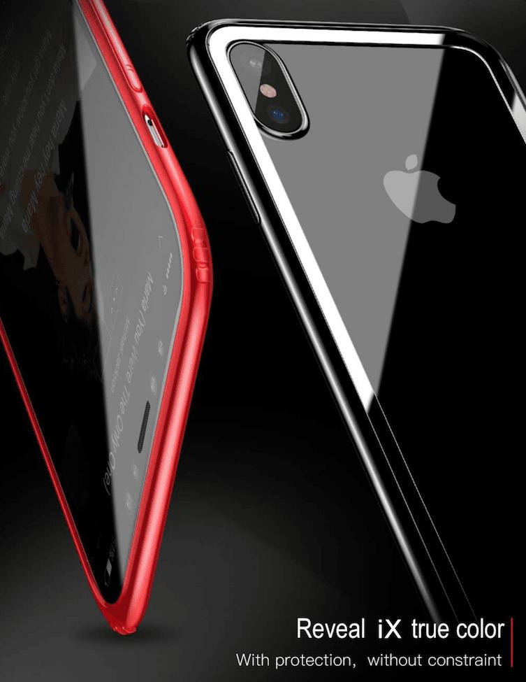 Case Iphone X Bumper De Laterais Iphone X Baseus  - Wtech vendas e Assistência técnica