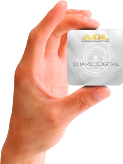 CHAVE DIGITAL MINI CARD 125Khz AGL