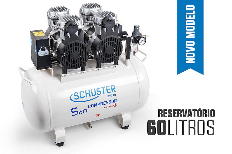 Compressor Odontológico Schuster S60 Schuster