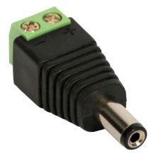 Conector P4 para fonte e camera CFTV 1 Unidade