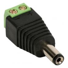 Conector Plug P4 Borne CFTV 100 Unidades